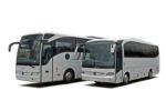 Bus for group transfers with 48 seats: for max 2 + 48 passengers