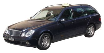 Taxi: Mercedes E classe station wagon for max. 4 passengers